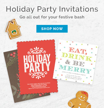Holiday Party Cards - Holiday Photo Cards